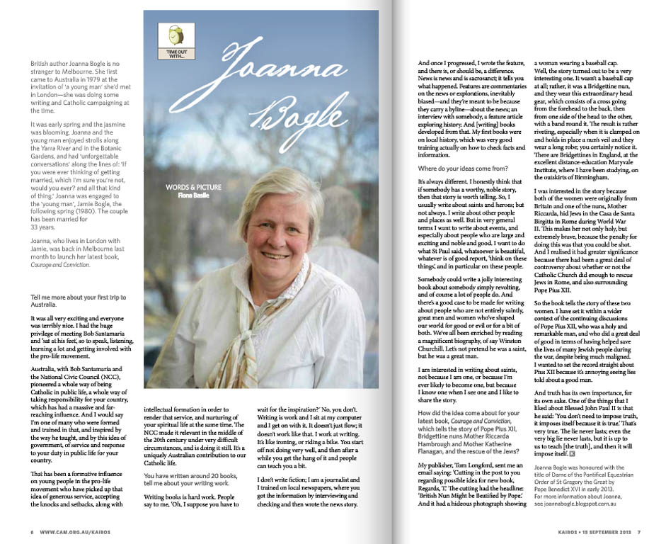Kairos_2013_Issue17_Joanna Bogle