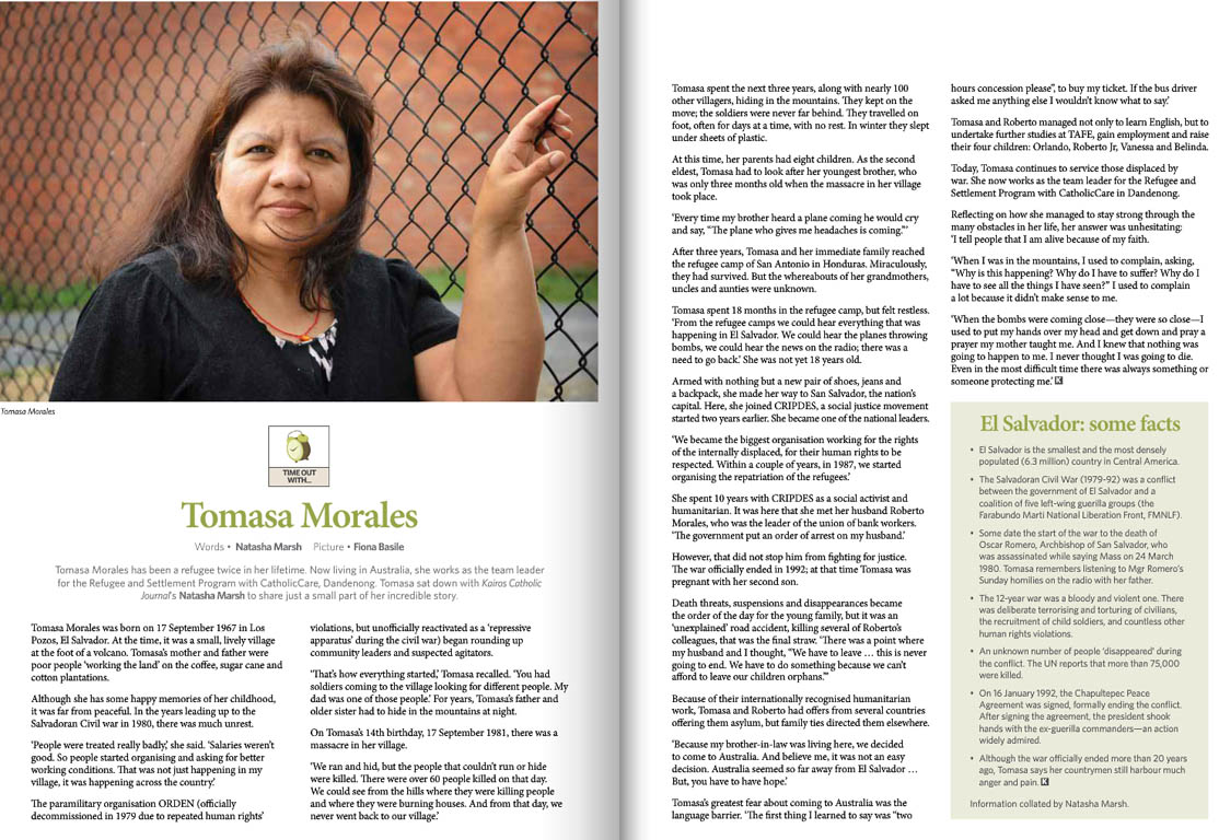 Kairos_2014_Issue11_Tomasa Morales