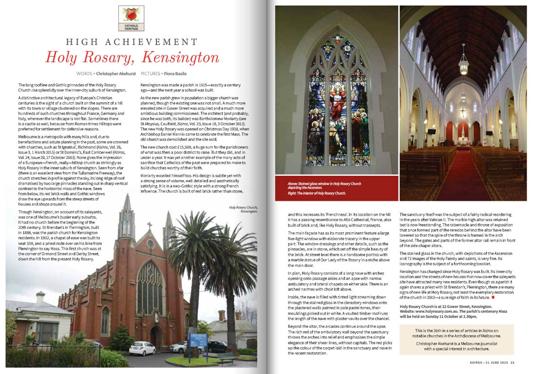 Kairos_2015_Issue11_Holy Rosary Kensington