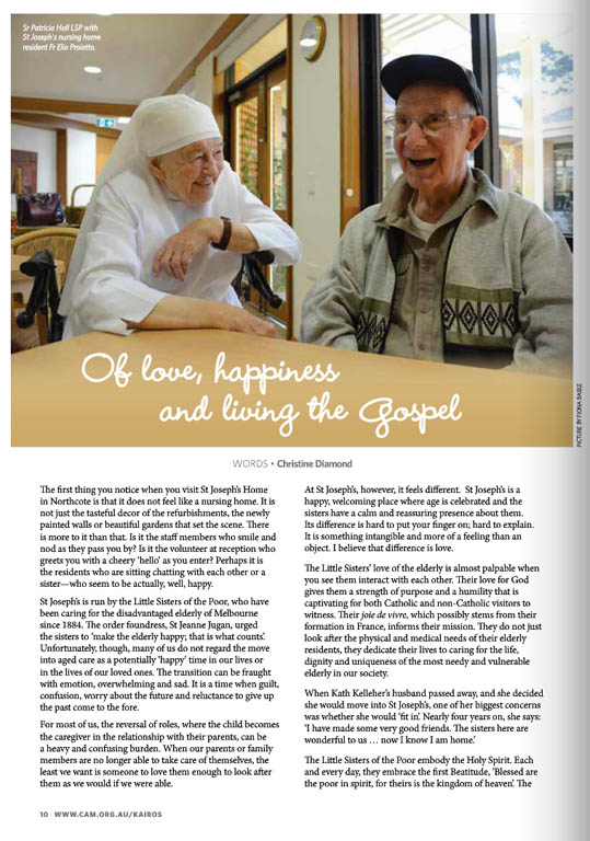 Kairos_2015_Issue7_St Joseph's Home
