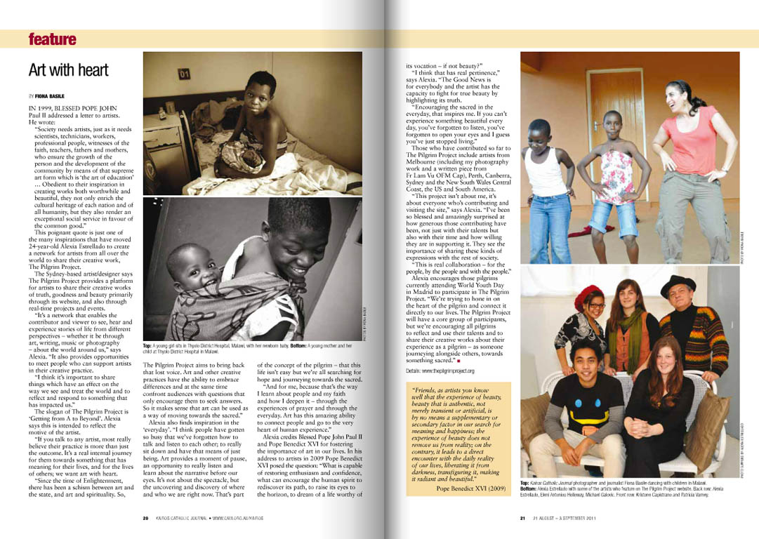 Kairos_2011_Issue15_Pilgrim Project