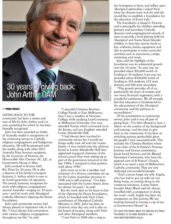Kairos_2012_Issue7_John Arthur