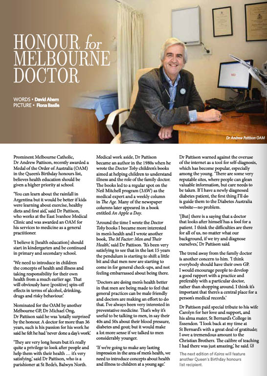 Kairos_2014_Issue13_Dr Andrew Pattison