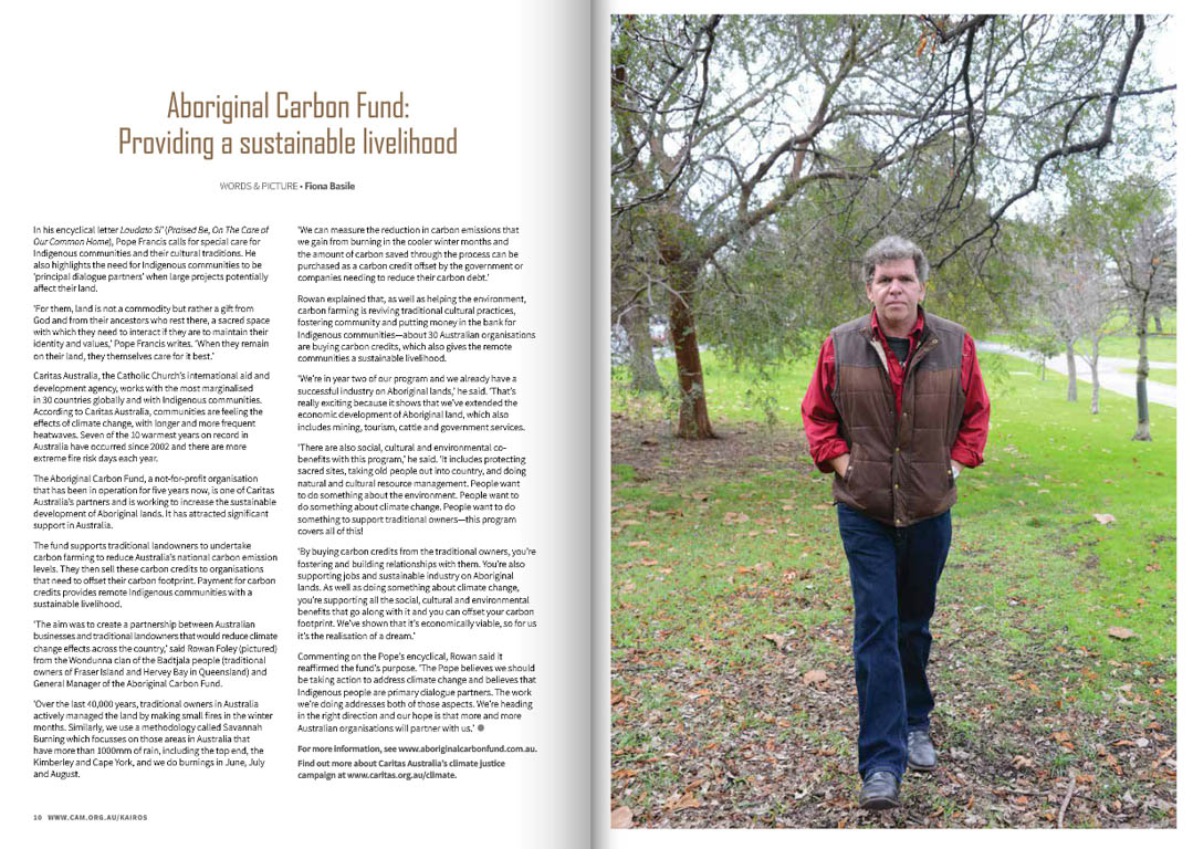 Kairos_2015_Issue18_Aboriginal Carbon Fund