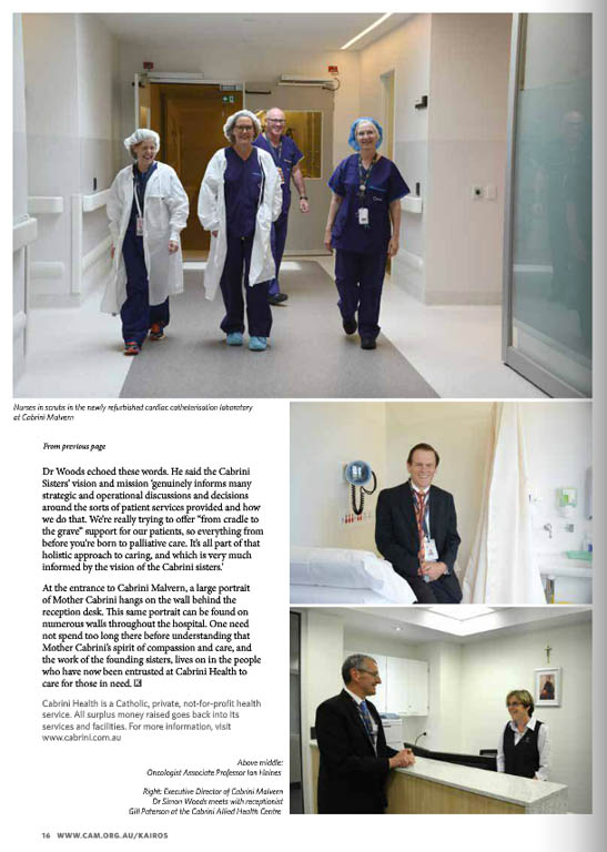 Kairos_2015_Issue9_Cabrini Health p2